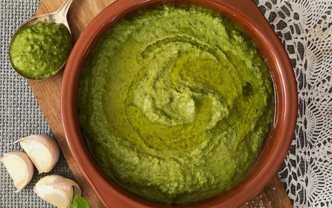 Chimichurri salad dressing is our newest essential
