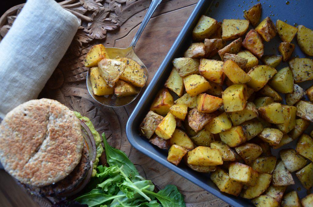 roasted potatoes YogicFoods
