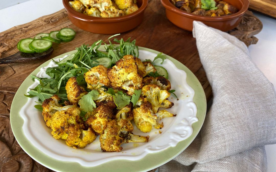 Roasted Cauliflower to empower Manipura by YogicFoods