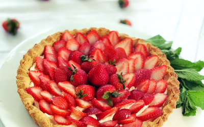 Strawberry Root Tart