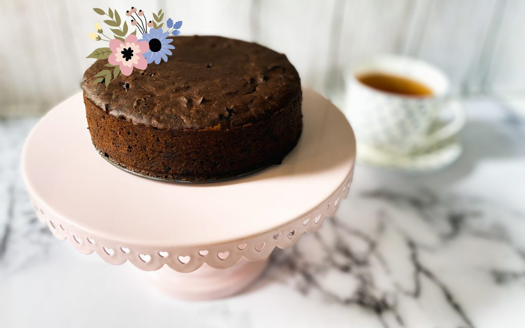chili cherry chocolate cake with health benefits for the Heart, great for Anahata Heart Chakra by YogicFoods