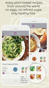 YogicFoods App Recipe with diet symbols