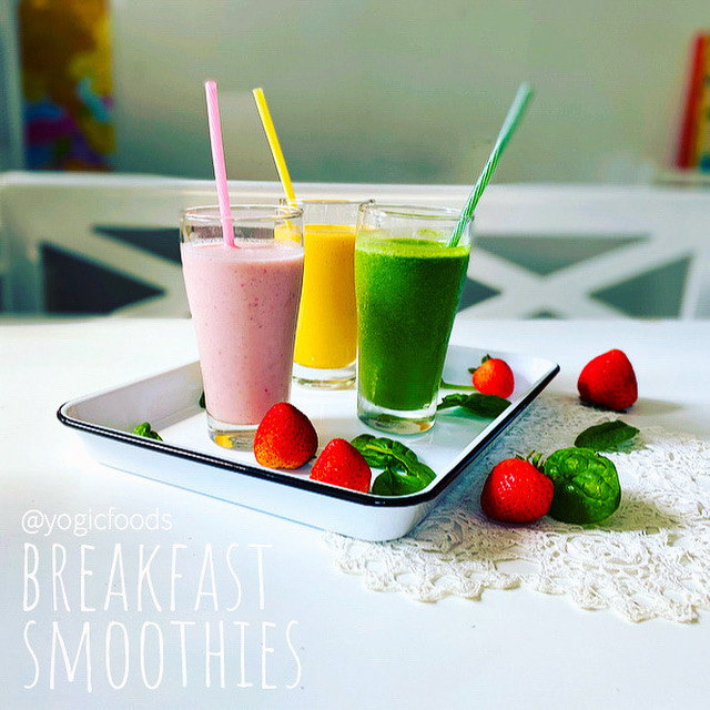 breakfast smoothies YogicFoods