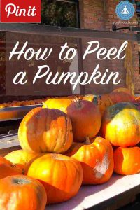 Pin It How to Peel a Pumpkin Yogic Foods, Yogic diet