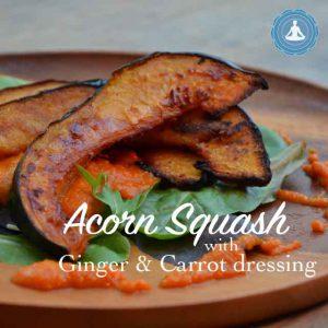 Acorn Squash Pumpkin from Yogic Foods yogic diet