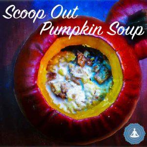 scoop out pumpkin soup Yogic Foods Yogic Diet
